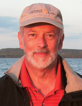 "Paul Knowles, author of ""Death on the Dun"""